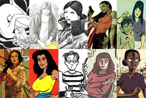 Top 10 de Komic Librería: mujeres protagonistas de cómics