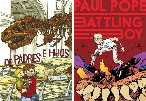 Komic Librería: De padres e hijos, Batling Boy