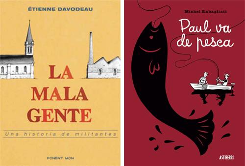 Komic Librería: La mala gente, Paul va de pesca