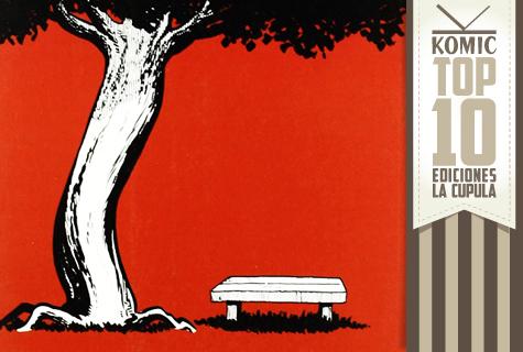 Top 10 de Komic Librería: Ediciones La Cúpula