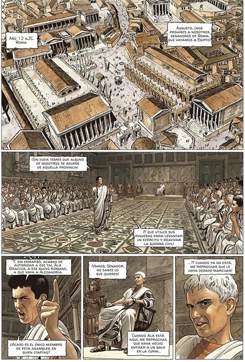 Komic Librería: Viñetas romanas