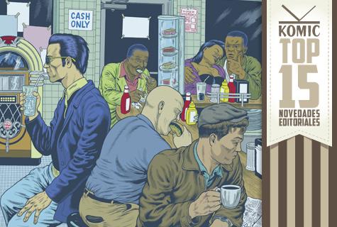 Top 15 de Komic Librería